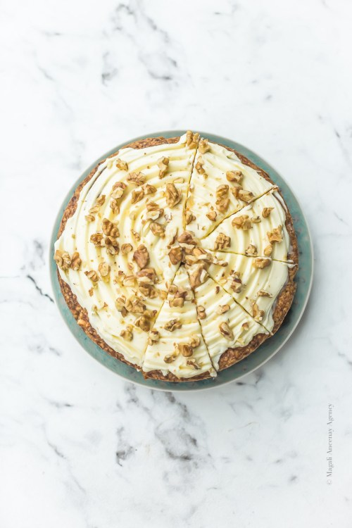 Carrot cake ottolenghi - Magali ANCENAY