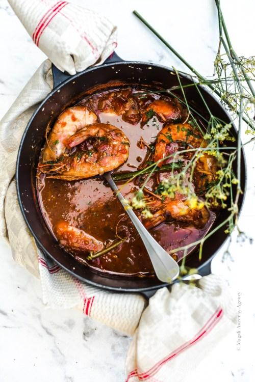 Repas festif à partager - Magali Ancenay