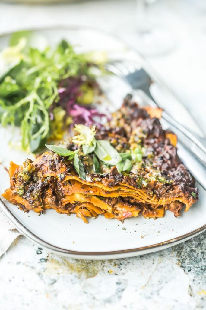 Lasagnes aux champignons sauvages - Magali ANCENAY
