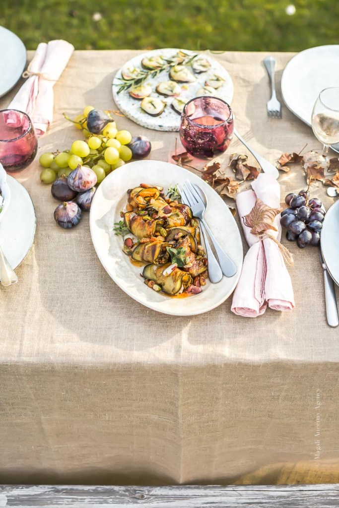 Paupiette aubergines Laura Zavan - Magali ANCENAY