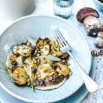 Raviolis de cèpes, noisettes et beurre de sauge- Magali ANCENAY