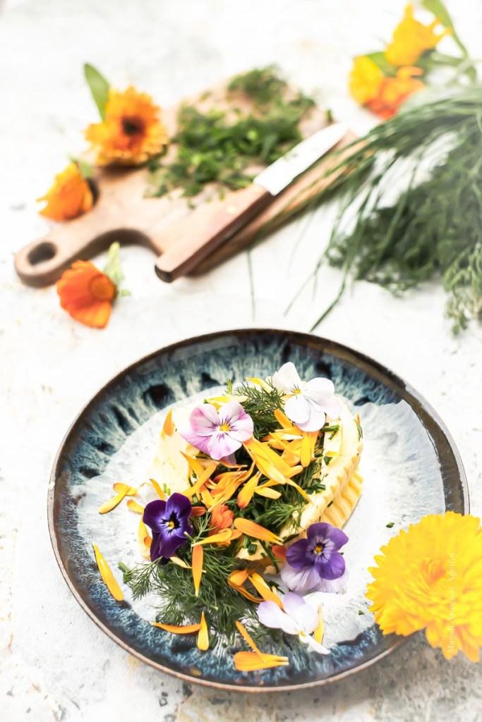 Quelques fines herbes et fleurs comestibles - Magali Ancenay