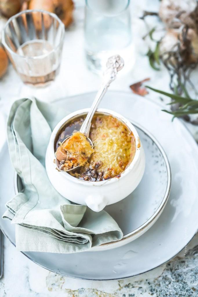 Soupe à l'oignon - Magali Ancenay