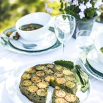Omelette courgettes orties - Magali Ancenay