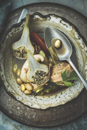 bouillon de poulet maison - Magali Ancenay