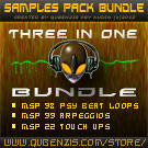2K12 Sample Packs Bundle! 3 in One