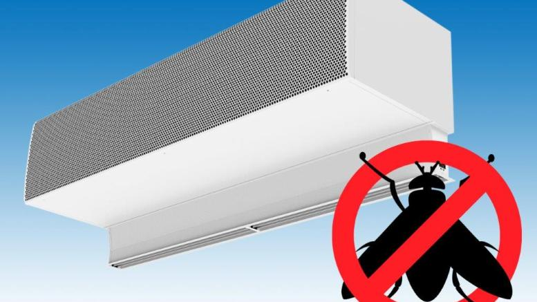 NEW INSECT PREVENTION AIR CURTAIN