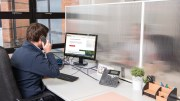 Protective screens for offices and public spaces, a 'safe and simple' answer to COVID-19 threat