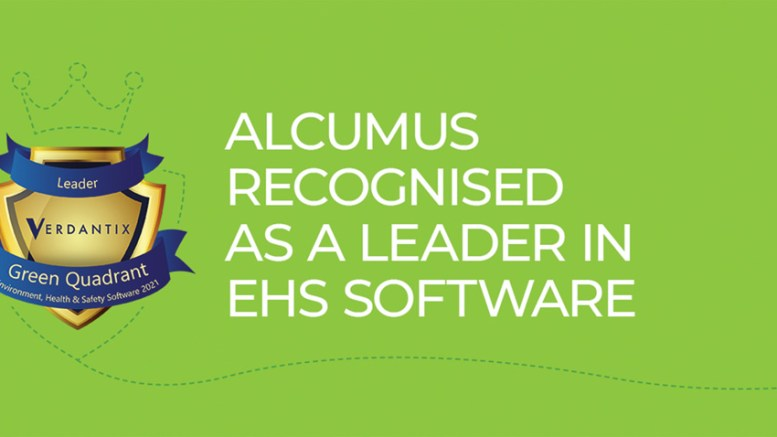 Alcumus Recognised as a Leader in Independent Review of Global EHS Software Vendors