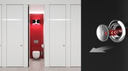 Maxwood Washrooms Launches Industry-First Inward Opening Cubicle Door with Eight Second Outward Emergency Access