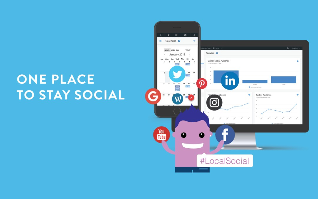 One place to stay social