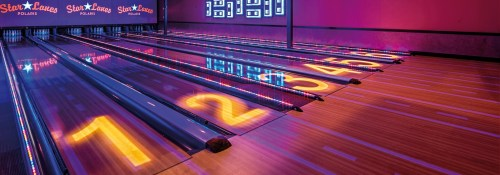 small resolution of bowling qubicaamf lanes xtreme capping lights banner jpg