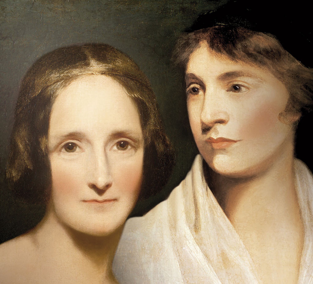 MARY WOLLSTONECRAFT y MARY SHELLEY, MADRE E HIJA, A CUÁL MÁS ROMPEDORA