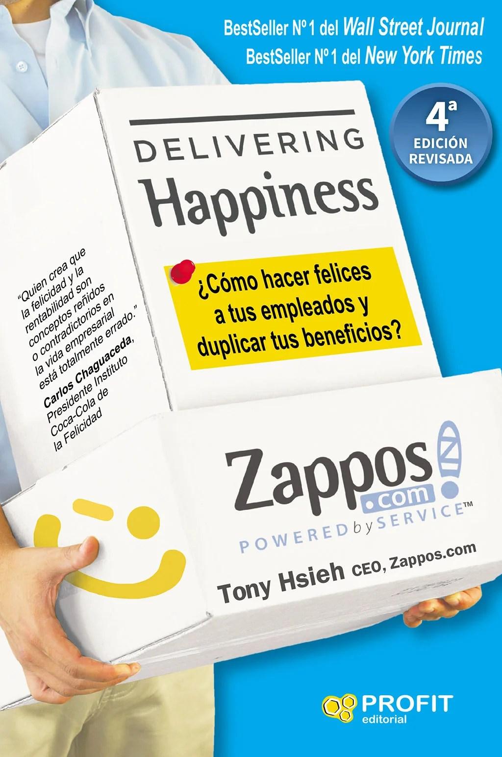 Libros de management. Delivering happiness.