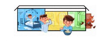 Google celebra con un 'doodle' el Día del Niño