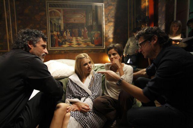 Rodaje de Habitacin en Roma con Elena Anaya y Natasha