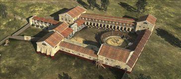 Hallan cerca de Viena los fundamentos de una escuela de gladiadores romanos