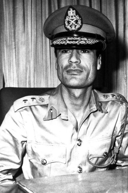 Resultado de imagen de Gadafi de joven imágenes