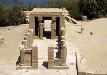 Egipto restaura un templo de la diosa de la música,la belleza y la maternidad