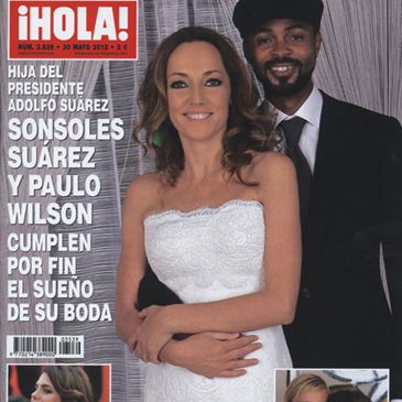 Sonsoles Suárez, la hija del expresidente del Gobierno, muestra las fotos de su boda con Paulo Wilson