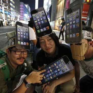 El iPhone 5 desata la locura en Asia y Australia