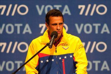 Capriles se postula a la reelección como gobernador tras la derrota ante Chávez