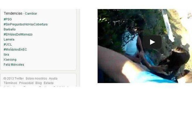 Vídeo de una felación de una menor en Twitter: Primeros menores imputados