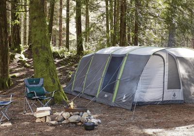 gagnez une tente gonflable woods pour 8