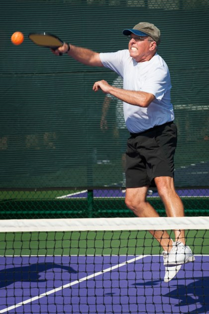 The pandemic has slowed pickleball