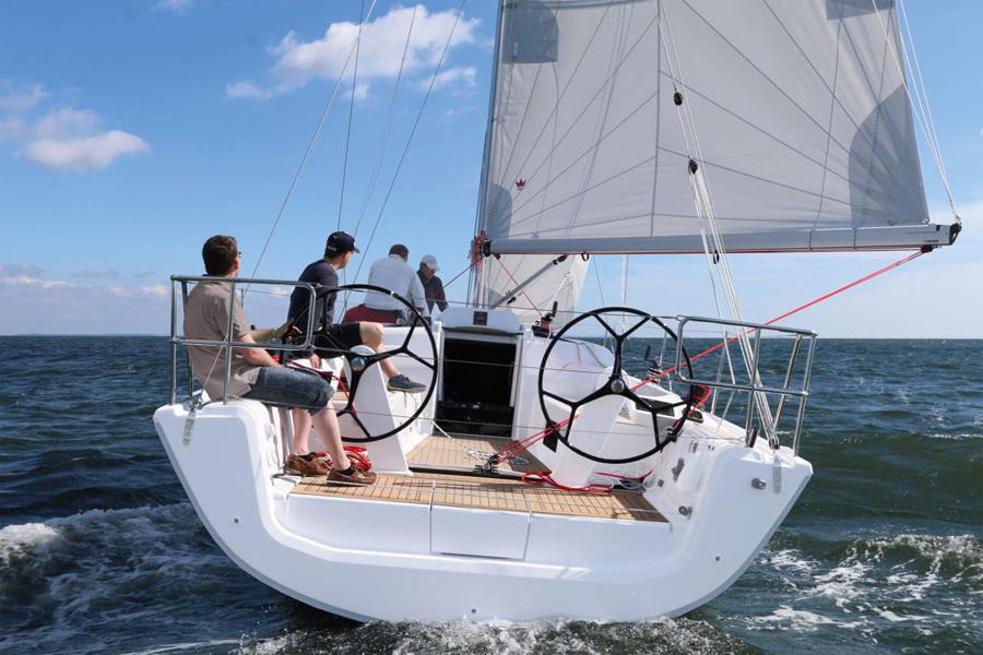 Nouveaux voiliers Hanse 588 et Dehler 34  Qubec Yachting