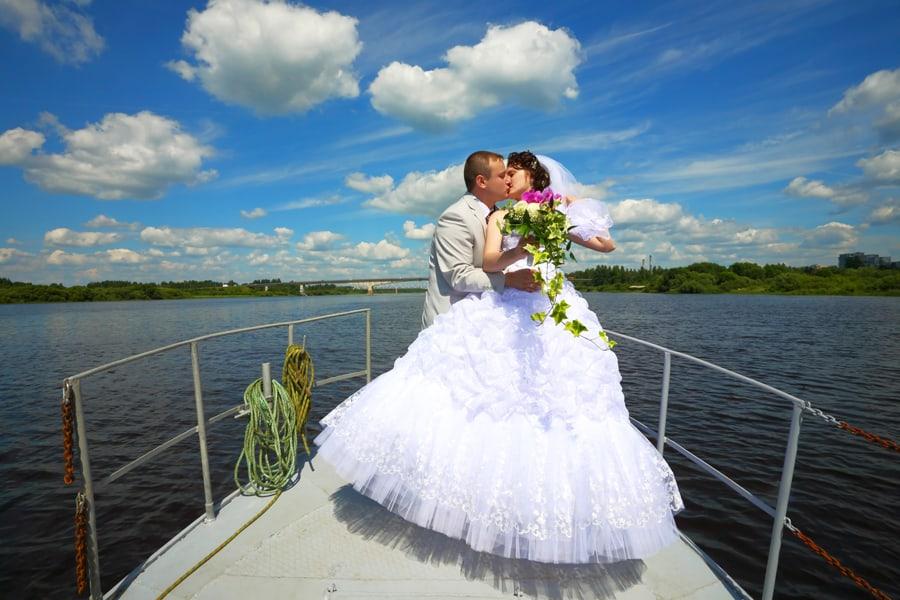 Se marier sur leau cest possible  Qubec Yachting
