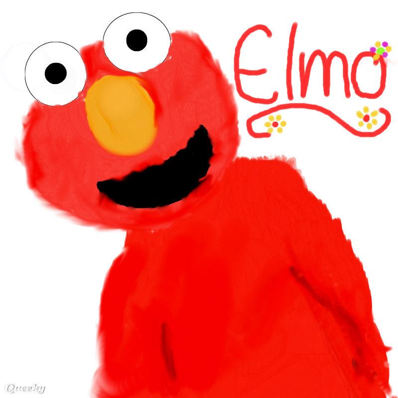 Elmo  an anime Speedpaint drawing by Jasmin1697  Queeky