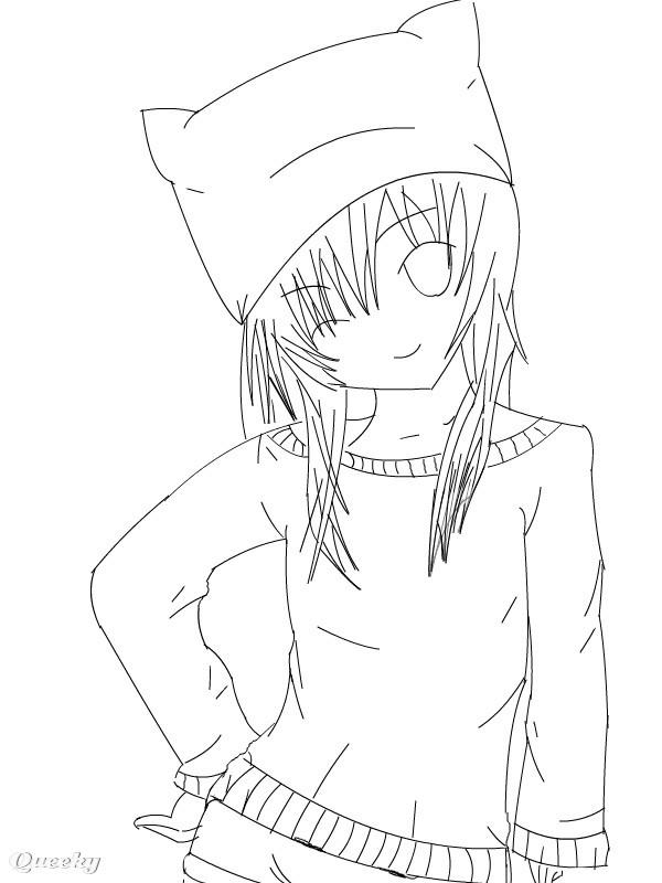 Cat Girl An Anime Speedpaint Drawing By Animeangel7