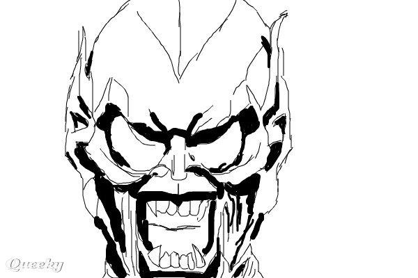 norman osborn green goblin sketch ← a character speedpaint