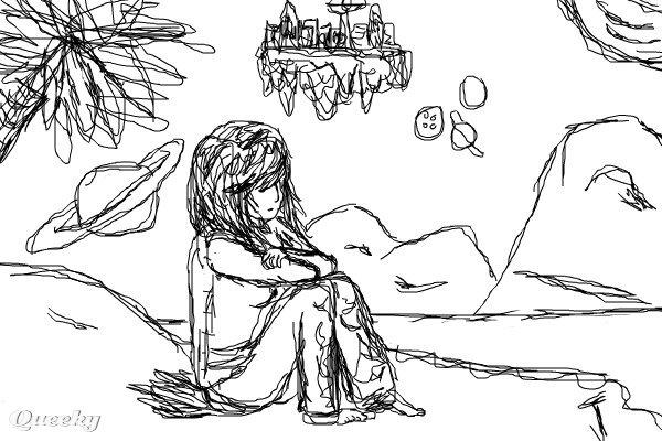 ALIEN PLANET ← a fantasy Speedpaint drawing by Treena