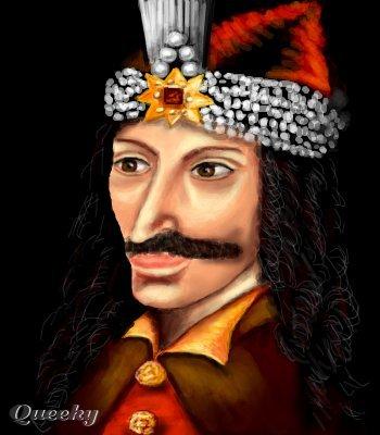 Vlad tepes  a portrait Speedpaint drawing by Nela_alen