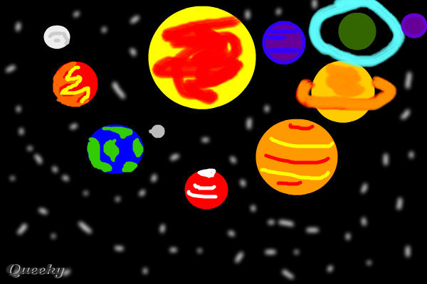 diagram of the planets in order fan switch wiring drawn pictures solar system - pics about space