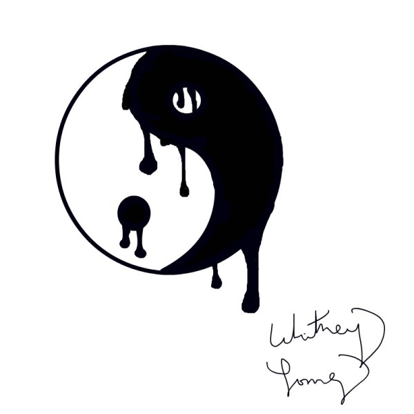 Melting yinyang an abstract Speedpaint drawing by
