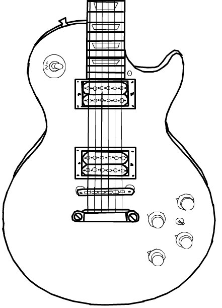 Les paul (to be continued) ← a music Speedpaint drawing by