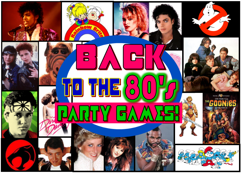 totally awesome 80 s theme party ideas