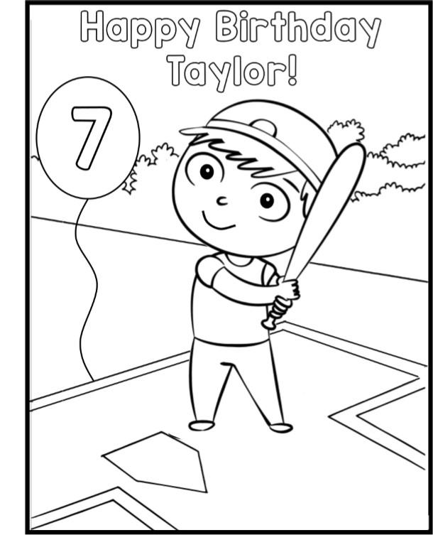 Baseball Birthday Party Game Ideas & Printables