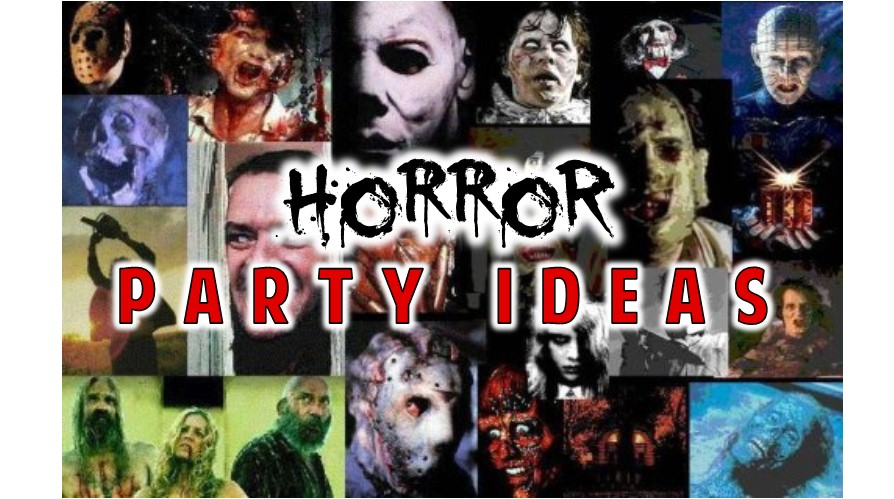 horror party theme ideas