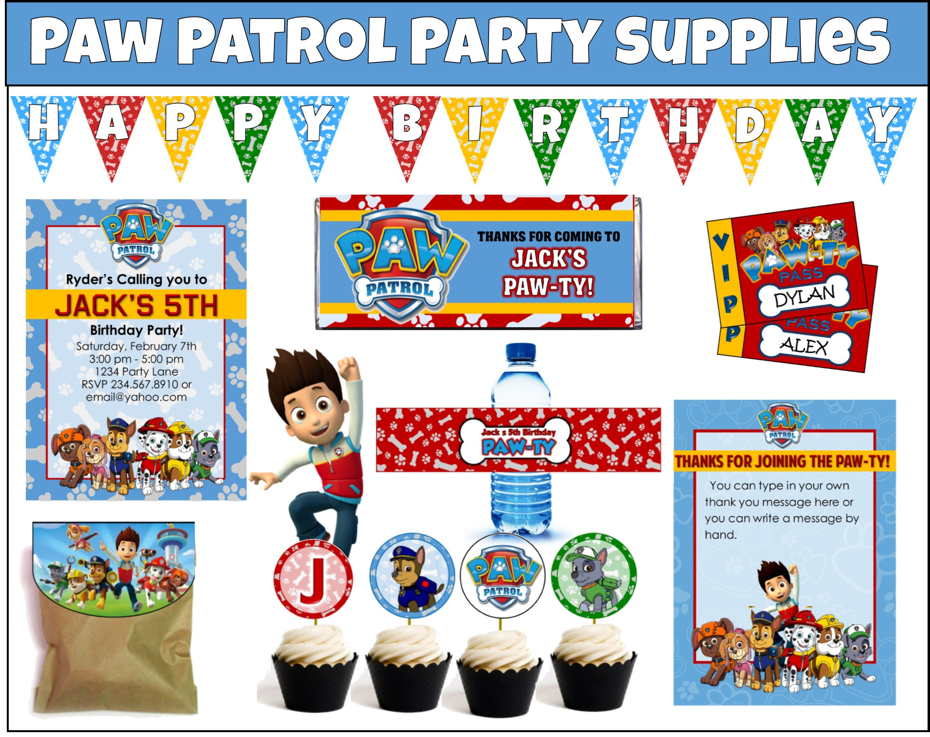 Paw Patrol Party Games and Ideas