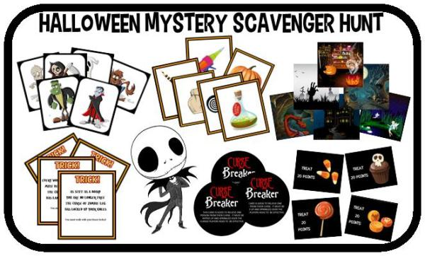 free halloween party games printables # 23