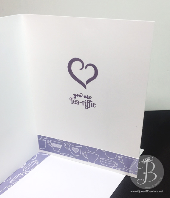 PPA292 Stampin' Up! A Nice Cuppa Mothers Day Card