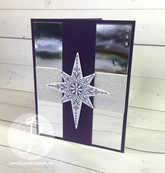 Stampin' Up! Star of Light stamp set with matching framelits from the 2016 Stampin' Up! Holiday Catalog