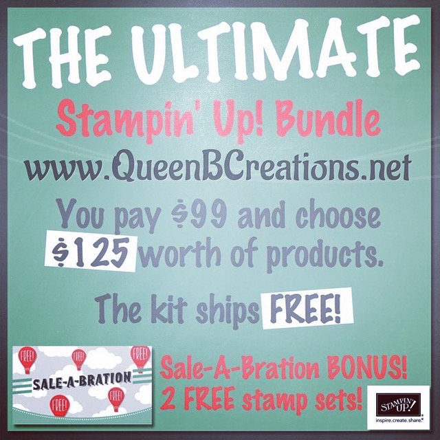 Stampin' Up! Ultimate Bundle option - save money and pick your own kit!