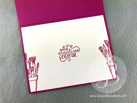 Stampin' Up! Crafting Forever in Berry Burst and Powder Pink (new in-colors) New Catalog Sneak Peek by Queen B Creations