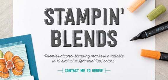 Stampin' Up! Stampin' Blend Markers new alcohol based markers for coloring