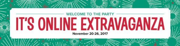 Stampi' Up! Online Extravaganza November 20-26, 2017